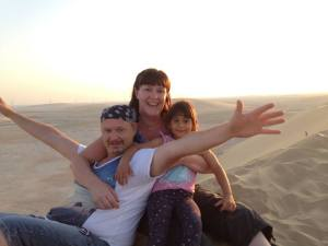Singing Sand Dunes - Qatar