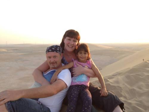 Singing Sand Dunes - Qatar 2014