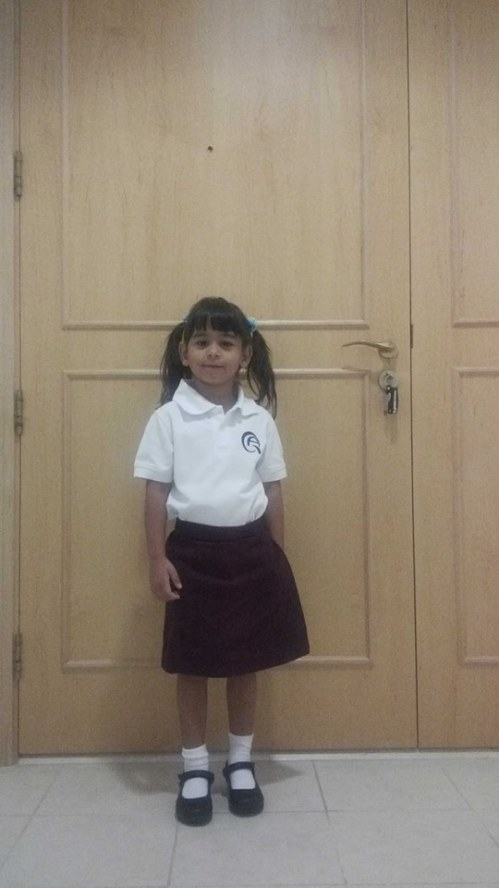 1st Day of School - Qatar Academy 2014