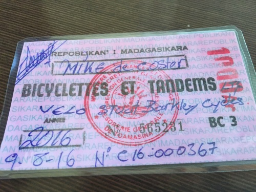 My Cycling Permit